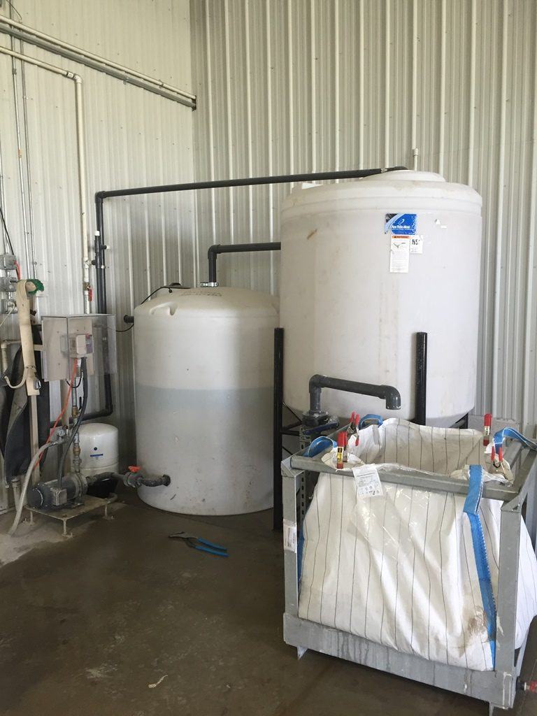 Concrete Cement Wastewater Filtration Slurry System